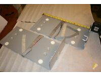 IKEA wall or under desk mounted PC support brackets x 2