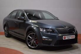 SKODA OCTAVIA 2.0 VRS TDI Hatchback 180 BHP - 1 Owner - Full His (grey) 2015