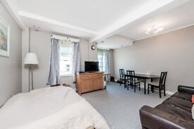 Spacious one bedroom flat with lift and porter to rent immediately