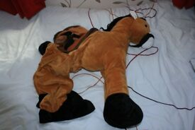 Fancy dress up Horse