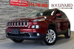 2017 Jeep CHEROKEE CUIR V6 LIMITED 4X4 HITCH