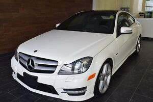 2012 Mercedes-Benz C350 4matic Coupe All Wheel Drive, Drivers As