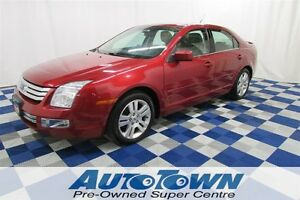 2009 Ford Fusion SEL/LOW KM/CLEAN HISTORY/LEATHER INTERIOR!!!