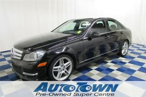 2013 Mercedes-Benz C-Class 350 4MATIC AWD/LEATHER/MEMORY SEATS/S