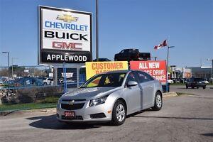 2014 Chevrolet Cruze BLUETOOTH, REMOTE START, FUEL EFFICIENT