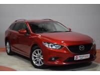 MAZDA 6 2.2 D SE-L Tourer NAV AUTO 148 BHP 1 Owner (red) 2015
