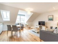 Spectacular apartment to let in New Town, Dublin St, completely furnished and equipped, bills incl