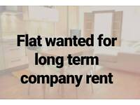 Need a house or flat, 2 year company rental.