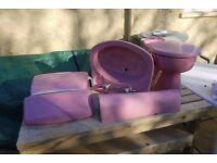 Armitage shanks toilet and pedestal sink.