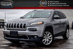 2016 Jeep Cherokee Limited|Navi|Backup Cam|Bluetooth|Safety Tec|