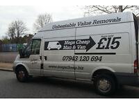 Lewisham Man And Van, Dulwich Man And Van, Peckham Man And Van, £25ph* (Lewisham,Southwark,Lambeth)