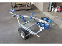 TRAILERS FOR SMALL BOATS - NEW AND READY TO ROLL - FULL WARRANTY
