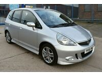 2006 HONDA JAZZ SPORT ** LOW MILEAGE** **FSH** **2 PREVIOUS OWNERS**