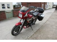 Red Yamaha XJ600 Sports Tourer Touring Motorcycle. MOT April 2019. 134L luggage system! Engine Bars