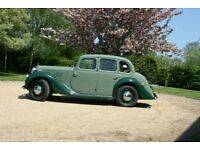 M G Y Type saloon 1947 G L 9899 7000 miles since 2002 body off rebuild with engine + gearbox