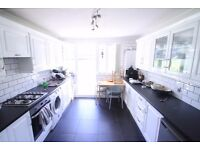 Large 4 double bedroom garden maisonette, walk to tube, walk to Queen Mary University, furnished