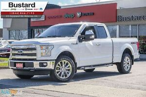 2016 Ford F-150 LARIAT | LEATHER | NAVI | CAMERA | 8000KM!