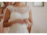 Stunning Sweatheart collection Wedding Dress, Size 10