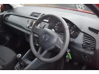 SKODA FABIA 1.0 MPi S 5 Door Hatchback (red) 2016