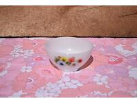 Arcopal Flower Pattern Small Bowl retro vintage