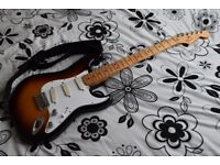Mexican Stratocaster (2010) Rare 2 Piece Body with Fender Lace Sensor Pickups