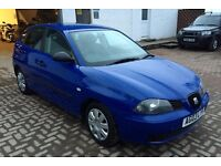 BARGAIN Trade in car to clear Seat Ibiza 1.2 5 door LOW MILES 85k motd Very Clean and tidy car !!