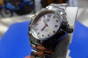 SUPERBE montre pour femme TAG HEUER Aquaracer WAF141A  #F002174