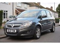 2012 Vauxhall Zafira Only 62K Miles Uber X Accepted