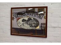 Southern Comfort Wall Mirror (DELIVERY AVAILABLE)