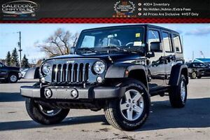2017 Jeep WRANGLER UNLIMITED Sport|4x4|Hard Top|Bluetooth|Air Co