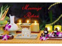 Full body relaxing massage