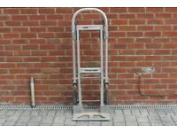 Magliner Gemini Hand Truck with solid wheels .