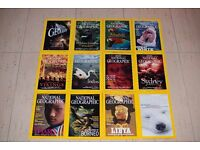 National Geographic - immaculate condition 12 issues year 2000