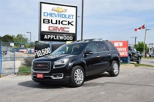 2016 GMC Acadia GM COMPANY CAR, AWD, LEATHER, NAV, TOW PKG