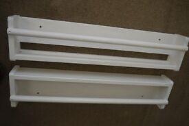 "IKEA Wall storage ""FLISAT"" – white x 2 units"