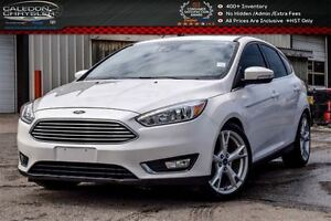 2015 Ford Focus Titanium|Navi|Sunroof|Backup Cam|Bluetooth|R-Sta