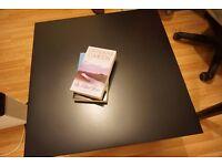 IKEA short table/black