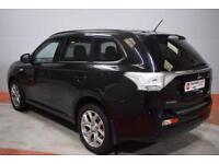 MITSUBISHI OUTLANDER 2.0 PHEV GX 3H Hybrid 5 Door AUTO 162 BHP (black) 2015