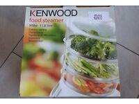 KENWOOD FOOD STEAMER - MODEL FS560