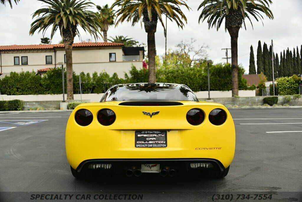 2006 Yellow Chevrolet Corvette  3LT | C6 Corvette Photo 6