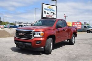 2015 GMC Canyon ONE OWNER, 6 SPEED, 2.5 I4, REAR CAMERA