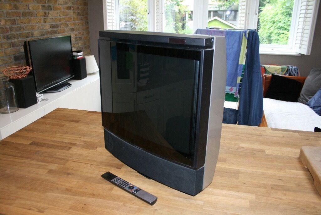 bang olufsen beovision mx 4000 21 crt television set with b o remote in richmond london. Black Bedroom Furniture Sets. Home Design Ideas