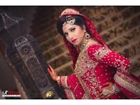 Professional Asian Wedding Photographers Male + Female / Cinematography covering all over UK
