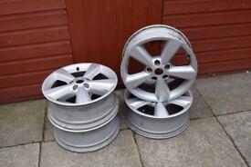 nissan qashqai alloy wheels off 4