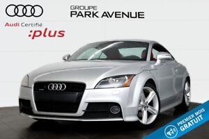 2012 Audi TT COUPÉ 2.0 TFSI QUATTRO S LINE+SIÈGES SPORT !