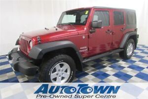 2011 Jeep WRANGLER UNLIMITED Sport 4x4/ALLOYS/CRUISE!!
