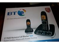 BT Call Minder Phone twin pack phone with answering machine