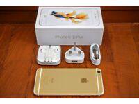 Apple iphone 6S Plus 16gb unlocked any network ***like brandnew condition***100% original phone***