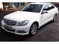 Mercedes C200 Executive SE CDI Blue Efficiency 14,000 Miles Hardly Used Excellent Condition
