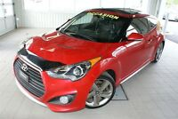 2013 Hyundai Veloster Turbo + CUIR + GPS + TOIT PANORAMIQUE